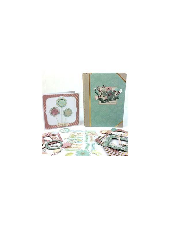 Flowers & Frames Embellishment Kit
