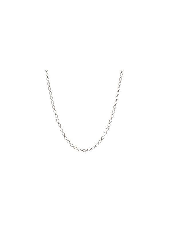 """Nickel-Safe Silver Sofia Chain: 16-19"""""""