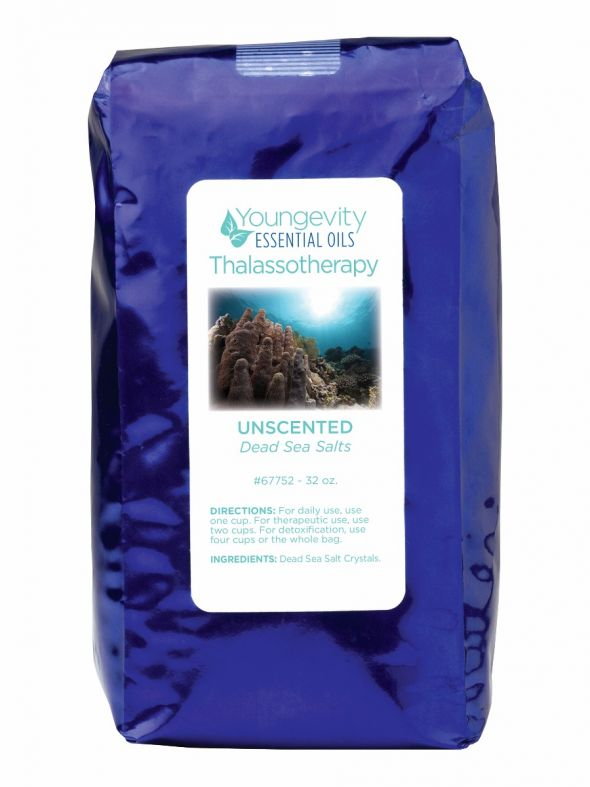 Unscented Dead Sea Bath Salts - 32 oz.