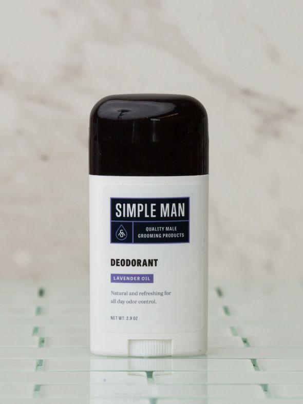 Simple Man Lavender Deodorant 2.9 oz