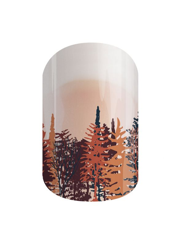 Woodland Way - Nail Wrap
