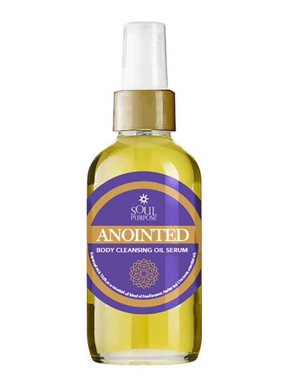 Anointed Body Cleansing Oil Serum 4 oz