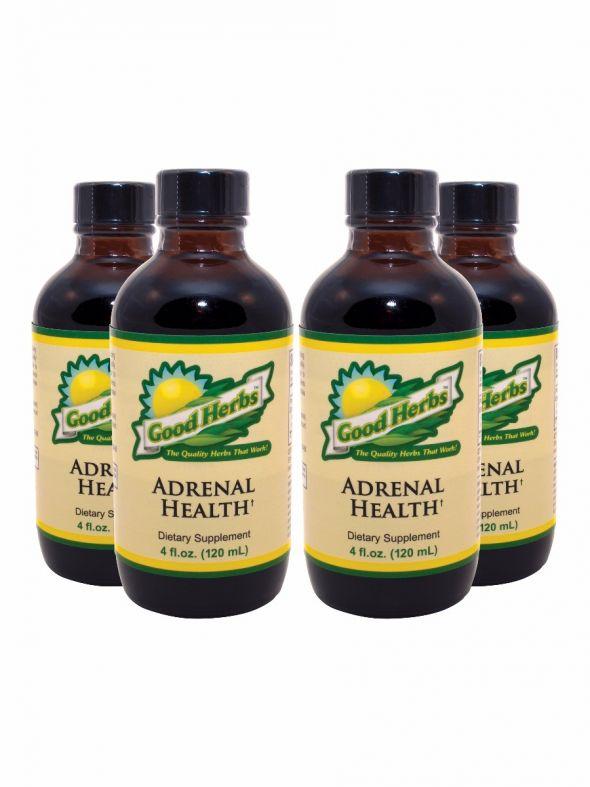 Adrenal Health (4oz) - 4 Pack