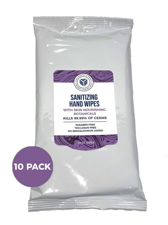 Sanitizing Hand Wipes- 30ct 10-Pack