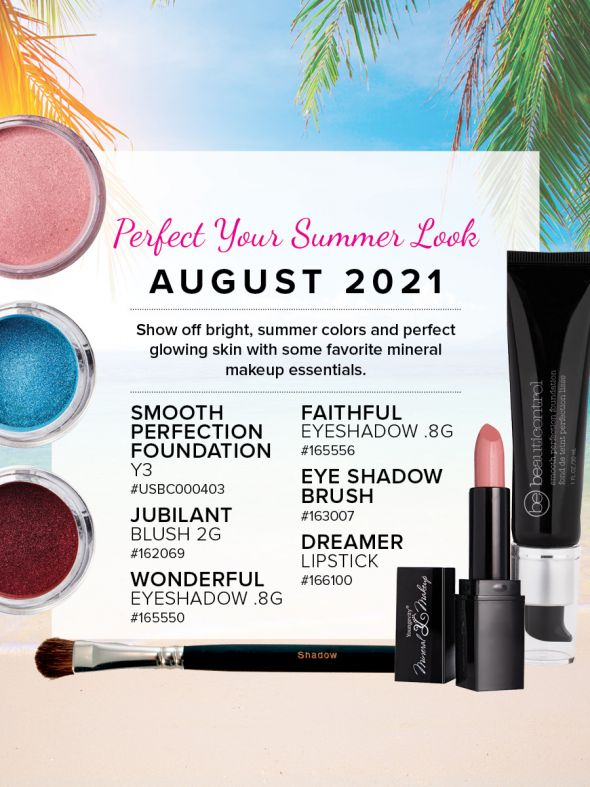 Mineral Makeup of the Month Club - August 2021